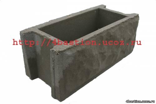 бетонные заборы, бетонные блоки забора , блок забора БЗ-40