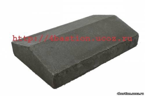 Крышка Забора Рубленый Камень КЗ-40
