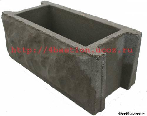 Блок Забора Рубленый Камень БЗ-40