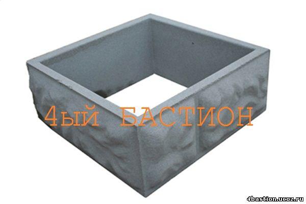 Блок Столба Рубленый Камень БС-40