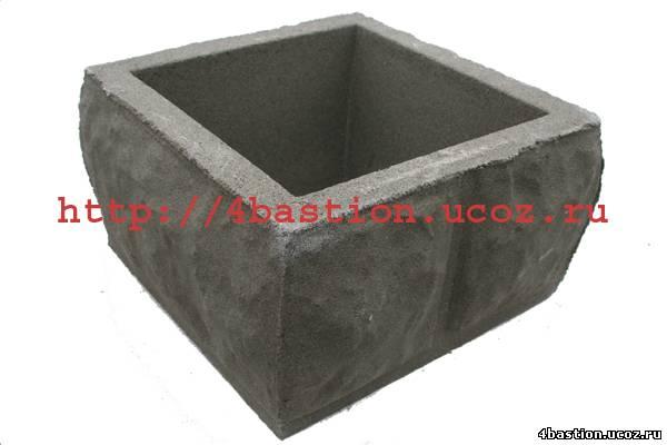 Блок Столба Рубленый Камень БС-30
